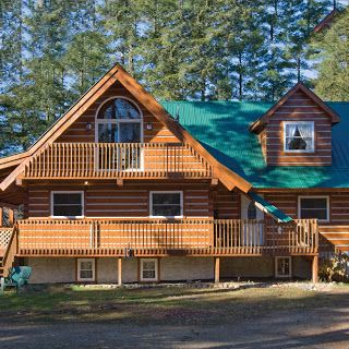 17 Best Images About Log Houses On Pinterest West Coast