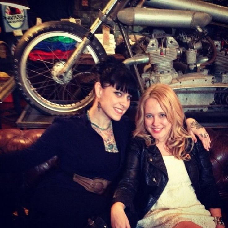 The hot ladies of American Pickers and Antique Archaeology - Danielle Colby-Cushman and Lauren Wray Grissom