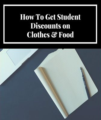 How To Get Student Discounts on Clothes
