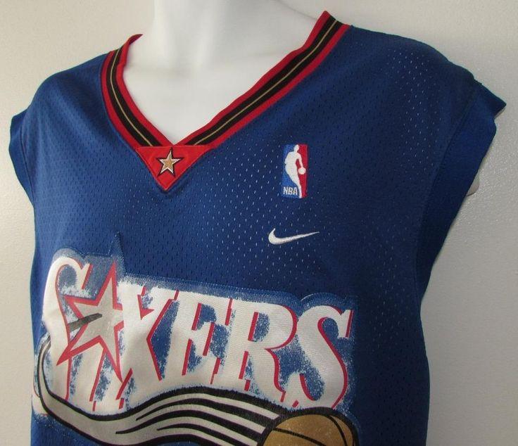 Men NBA Allen Iverson Philadelphia 76ers Nike Jersey szm 3 XL #Nike #Philadelphia76ers