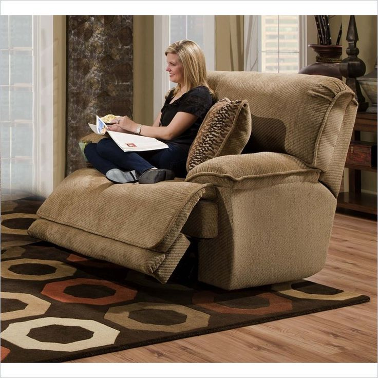 Love this ginormous recliner, perfect for cuddling up and watching a movie!