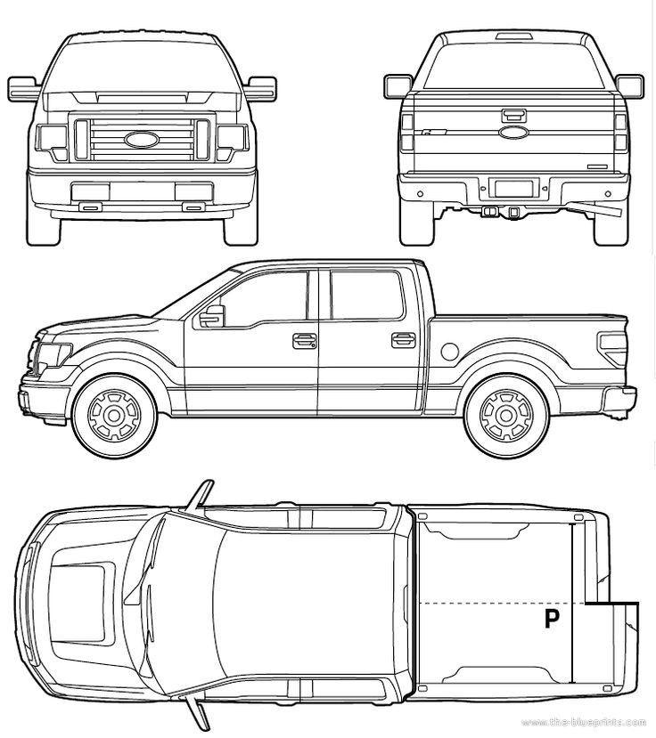 Ford F 150 Raptor Blueprint