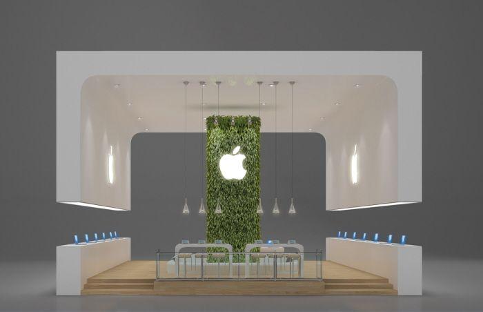 Exhibition Stand Designs For Sale : Exhibition design apple by leticia velasco at coroflot