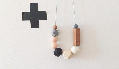 blush-geo-necklace-Dove and Dovelet