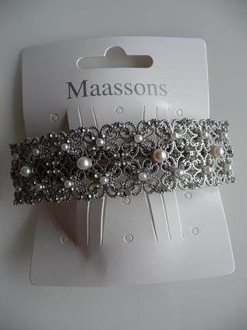 MAASSONS Haarspeld filigrane perle