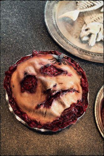 Creepiest Halloween Pie I've ever seen. Nasty! by Withering Heights Inn on Halloween Forum
