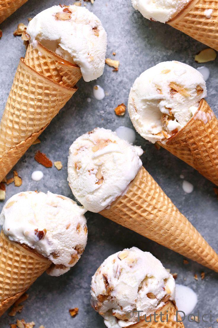 Butter Almond Ice Cream