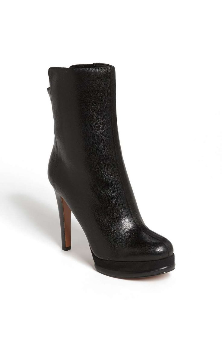 Nine West Lay It Out Cuir Bottine VzjmZ