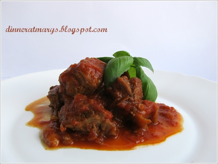 osso buco with tomato