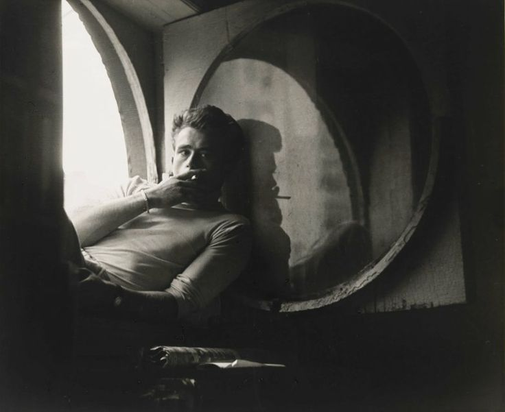 James Dean, 1954, by Roy Schatt. National Portrait Gallery, Smithsonian Institution