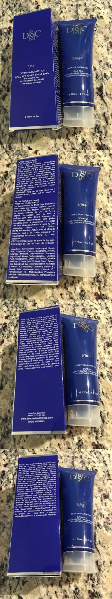 Aftershave and Pre-Shave: 2X Deep Sea Cosmetics-Kings-Dead Sea After Shave Balm+Moisturizing Cleansing Gel -> BUY IT NOW ONLY: $49.99 on eBay!