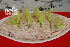 Yedikçe Yediren Yoğurtlu Arpa Şehriye Salatası