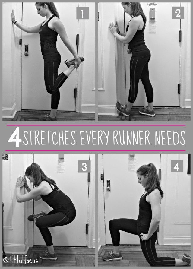 4 Stretches Every Runner Needs | Stretches for Runners