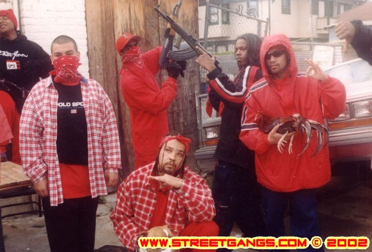 Bloods Gang Members