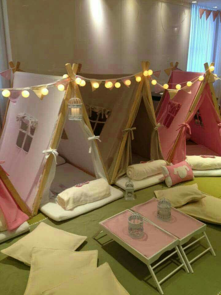 Teepee party (unicorn spa party)