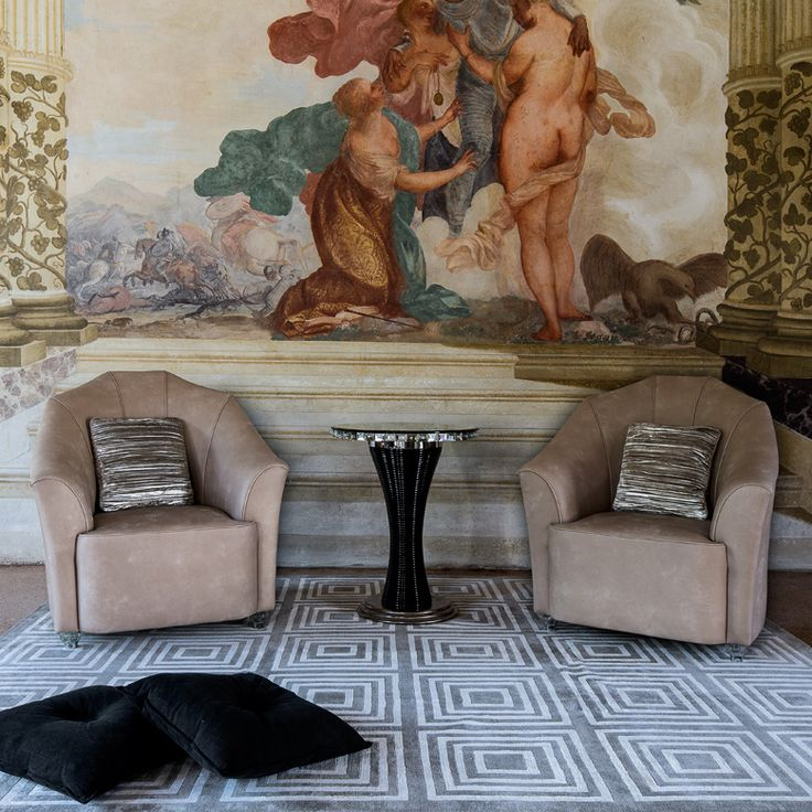Arte Veneziana - Poltrone Fireplace _ design by Giovanni Luca Ferreri