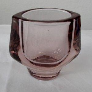 Sklo Union Vizner Purple Glass Vase