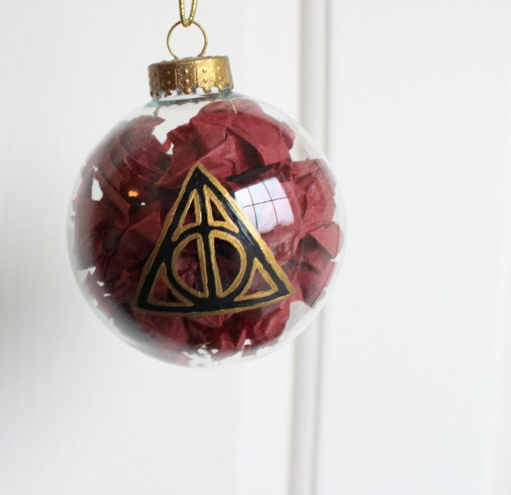 Holiday Harry Potter Crafts