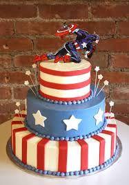 Resultado de imagen para pasteles de capitan america