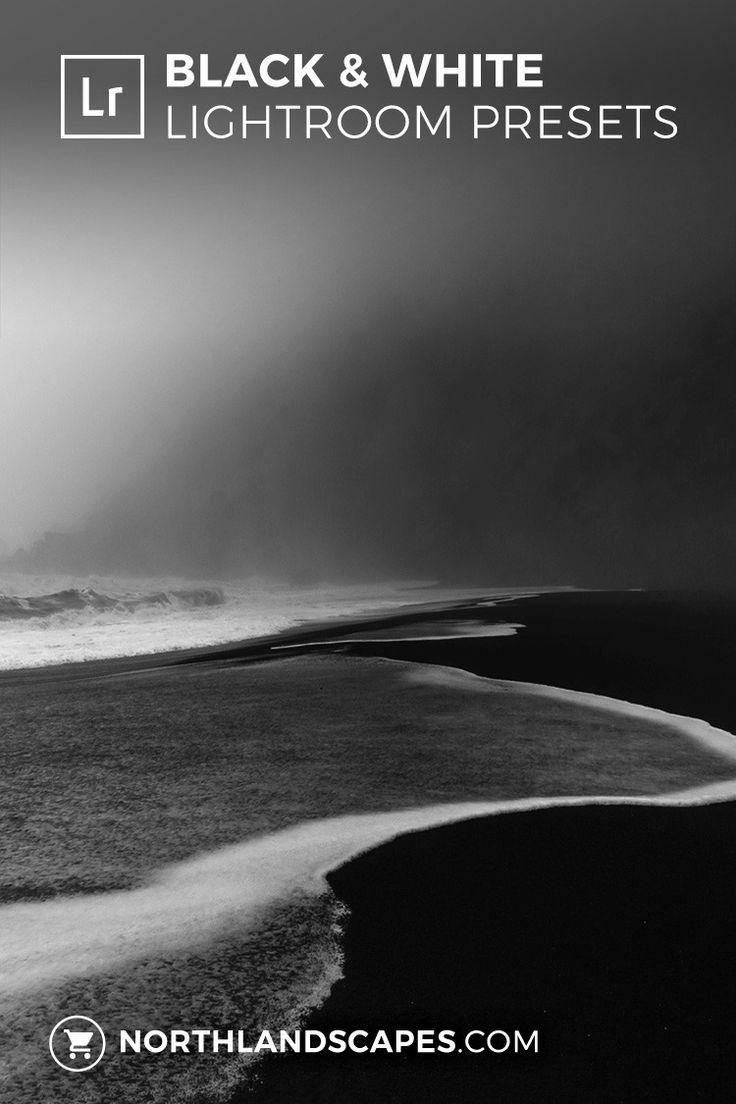 Dramatic Black & White Lightroom Presets for Landscape Photography
