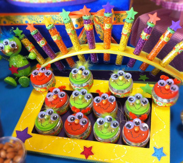 Decoraci n para fiestas infantiles barra de dulces dulceros para ni os mesa de dulces - Decoracion fiestas infantiles para ninos ...