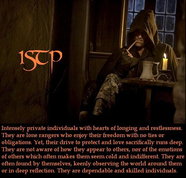 ISTP-ranger description.  ~ One of my own pin creations. ~Erika
