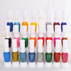 24 Colors Nail Polish Art Set. All is simple and possible at nail polishing with the Nail Art Polish Varnish Paints. You can use these beautiful polishes to design your own style painting, since it is perfect for creating detailed nail art. This kind of nail polishes are suitable for professional nail salon, nail art school / college, nail art artist and personal / home use, wholesale, etc. They are great in displaying perfect lines and making some ornament. …