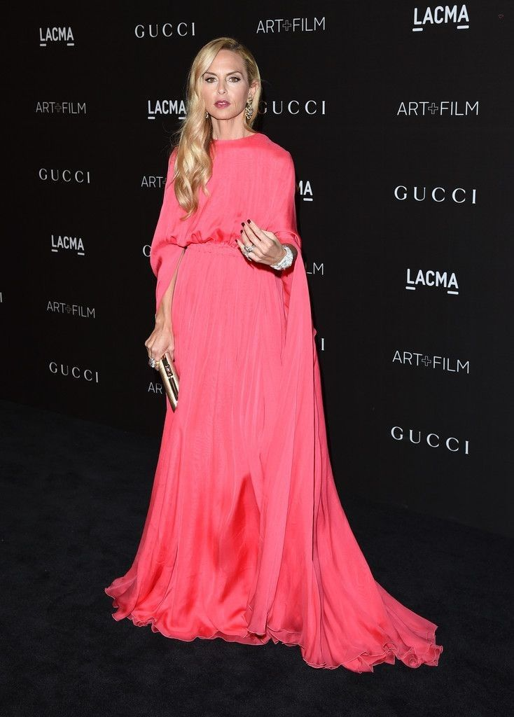 Rachel Zoe..  Valentino Cape-Sleeve Silk Kaftan..... - Celebrity Fashion Trends
