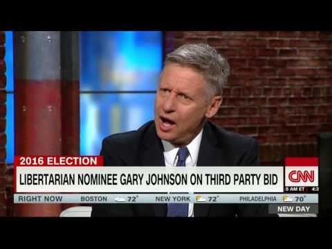 Gary Johnson On CNN 5/31/16 - YouTube