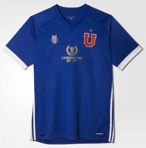 Universidad de Chile 1927-2017 Home 90th Anniversary Soccer Jersey [I879]
