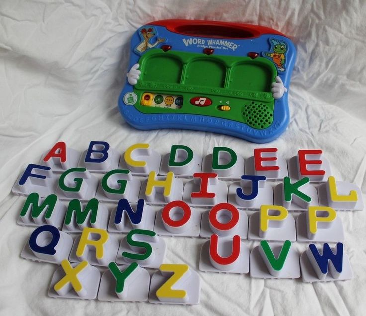 SOLD *** LEAP FROG Word Whammer Fridge Phonics Set ...