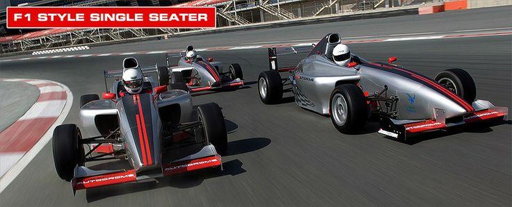 F1 style car @ Dubai Autodrome