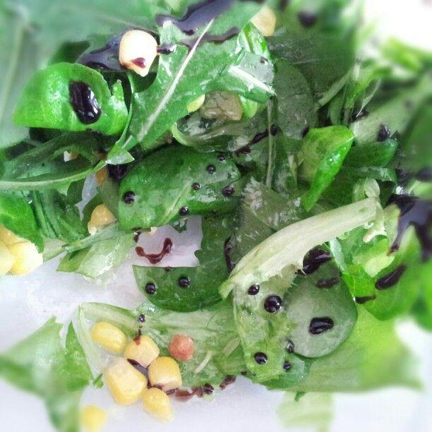 Insalatina verde all'aceto balsamico
