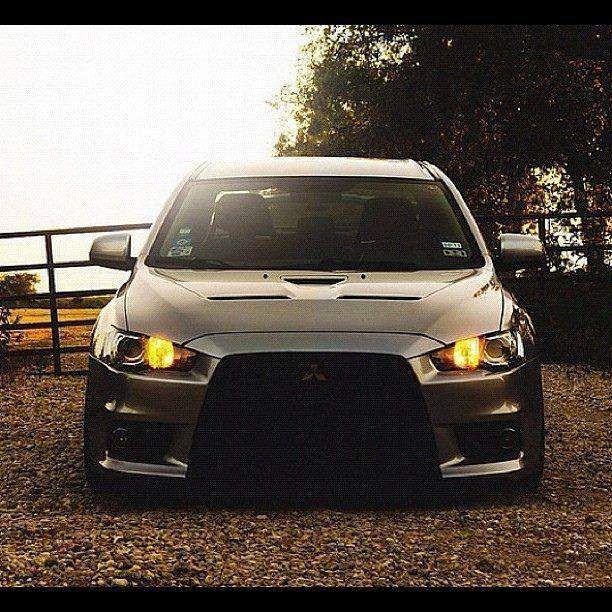 Mitsubishi Evo X #cars #wheels #tyres @alloywheels