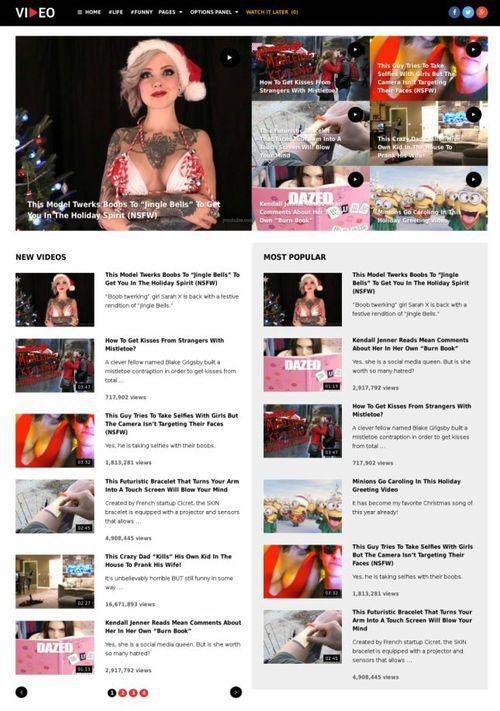 Video WordPress Theme - MyThemeShop #video review