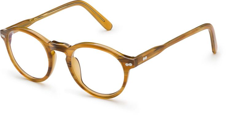 Moscot Miltzen Blonde. Whenever I start going blind, these will be my glasses of choice.