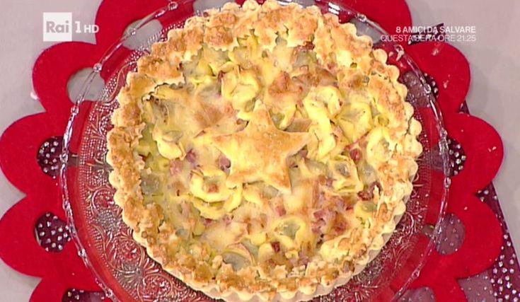 La prova del cuoco   Ricetta crostata di tortellini   Anna Moroni