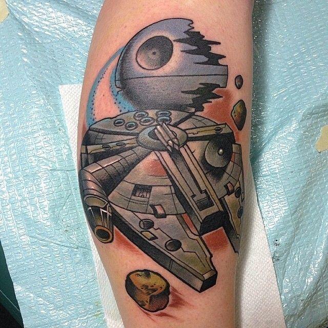 @nick_sarich_tattooer Found on Instagram. #StarWarsTattoo #StarWars #Tattoo