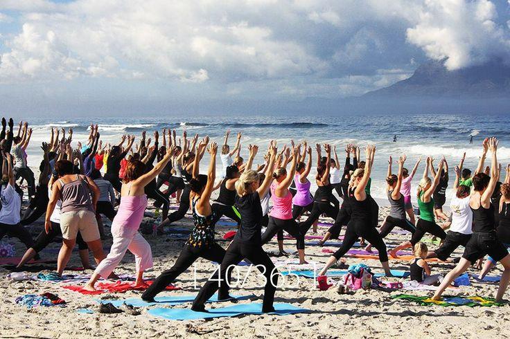 Saturday, 08 Feb 2014 [ Yoga, Blouberg beach ]