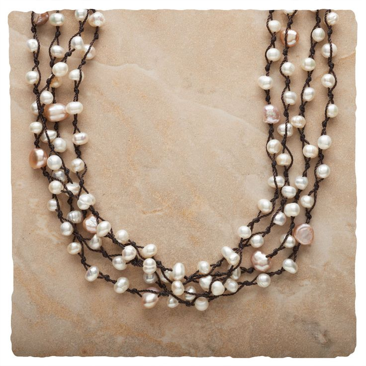 Multi-Strand Necklaces - Neptune's Jewels Necklace