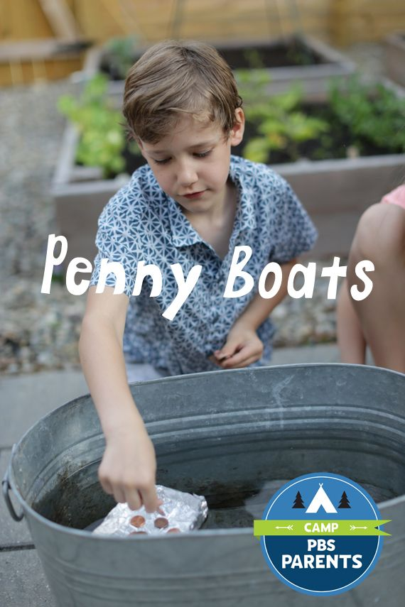 A design challenge for kids - Make a boat from aluminum foil and test how many pennies it can hold without sinking!