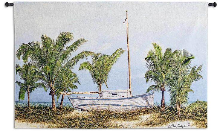 Beached - Bob Timberlake | Tapestry Wall Hanging | 45 x 31