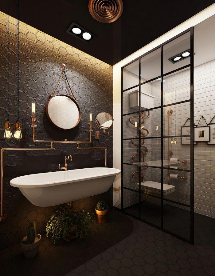 34++ Salle de bain vintage industriel inspirations