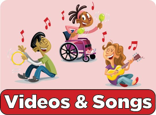 Sing along to these #MyPlate-inspired songs! It's a fun way to learn about healthy habits and the 5 food groups with your kids! #nutritioned