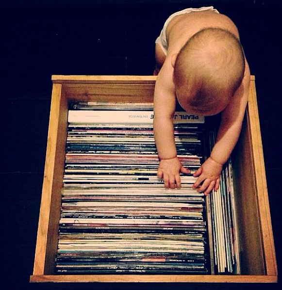 It's never too early to start - Diggin In The Crates #music #diggininthecrates