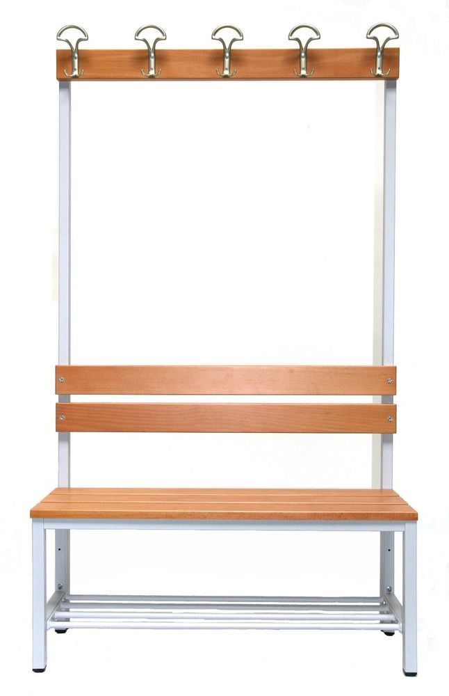 Fabulous Details zu Garderobe Sitzbank Schuhrost BxHxT xx cm Bank Umkleidebank