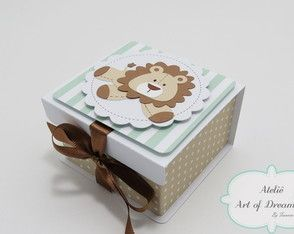 Lembrancinha Maternidade Leão (C502)