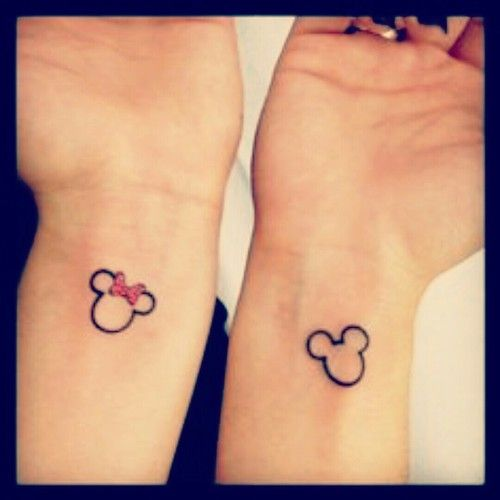 mickey  lovely tattoo