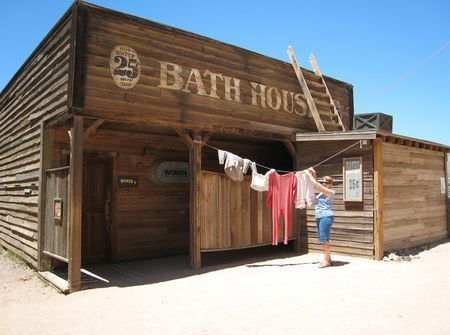 Old West Bathhouse In 2020 Barn With Living Quarters