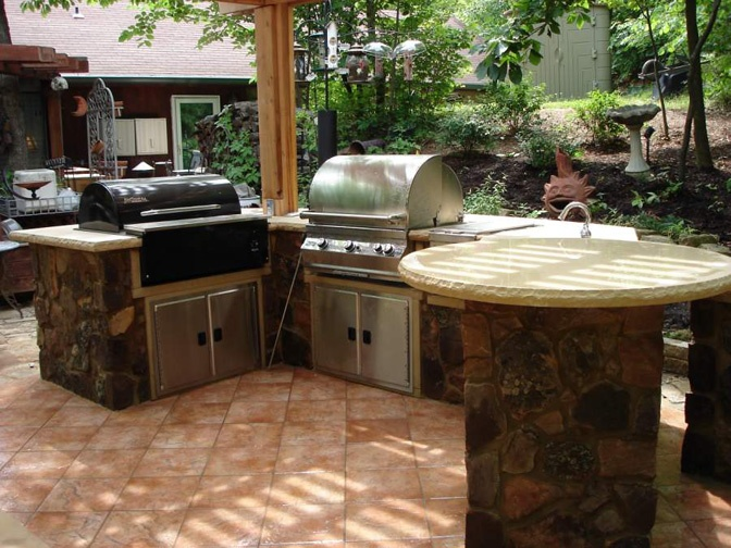 New Age Outdoor Kitchen Cabinets